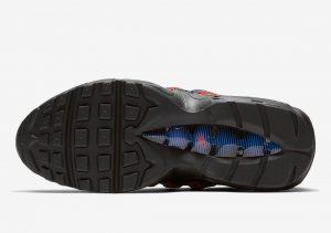 Nike Air Max 95 Leopard Print Blue Red