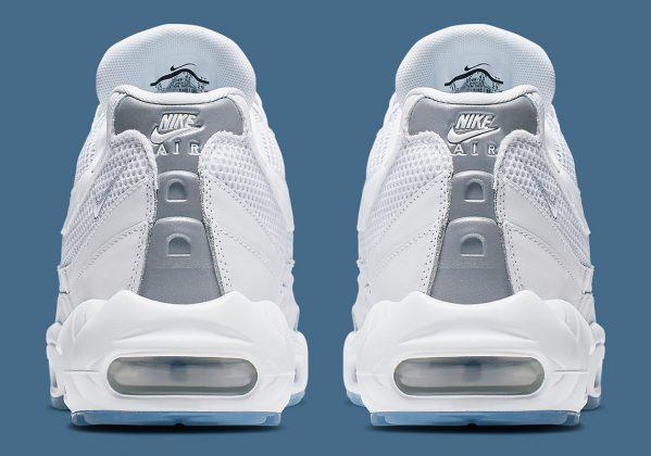 Nike Air Max 95 White Silver