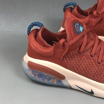 Nike Joyride Run Flyknit Cinnabar Crimson Tint Aurora Blue