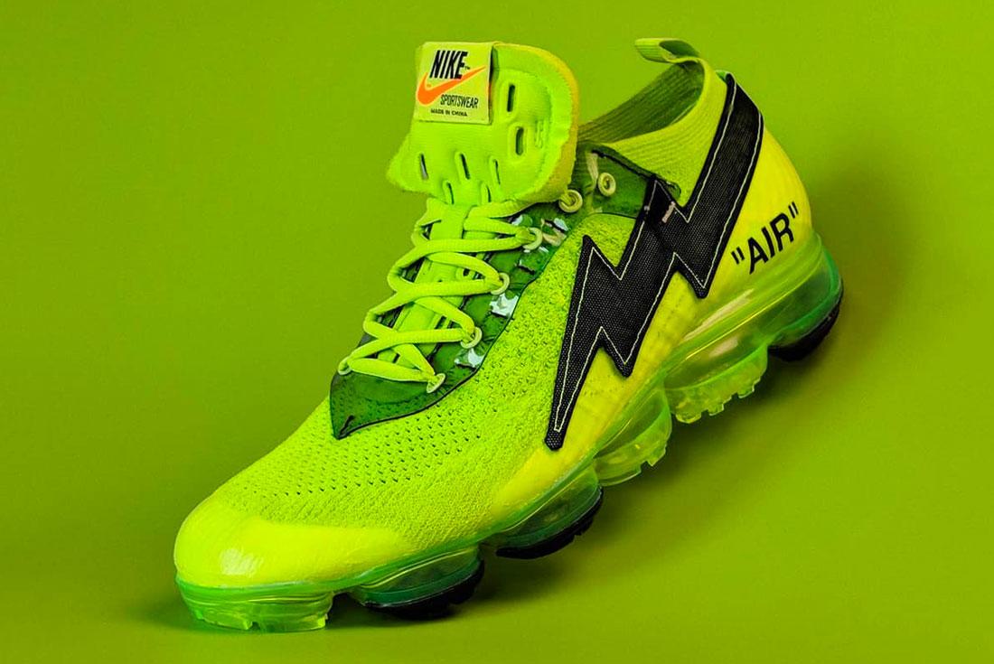 Nike vapormax Off White Revenge Storm