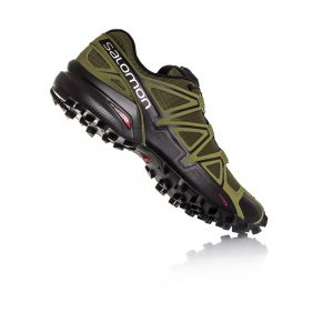 Salomon Speedcross 4 Leaf Burnt Olive Black