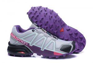 Salomon Speed Cross 4 Light Gray Purple