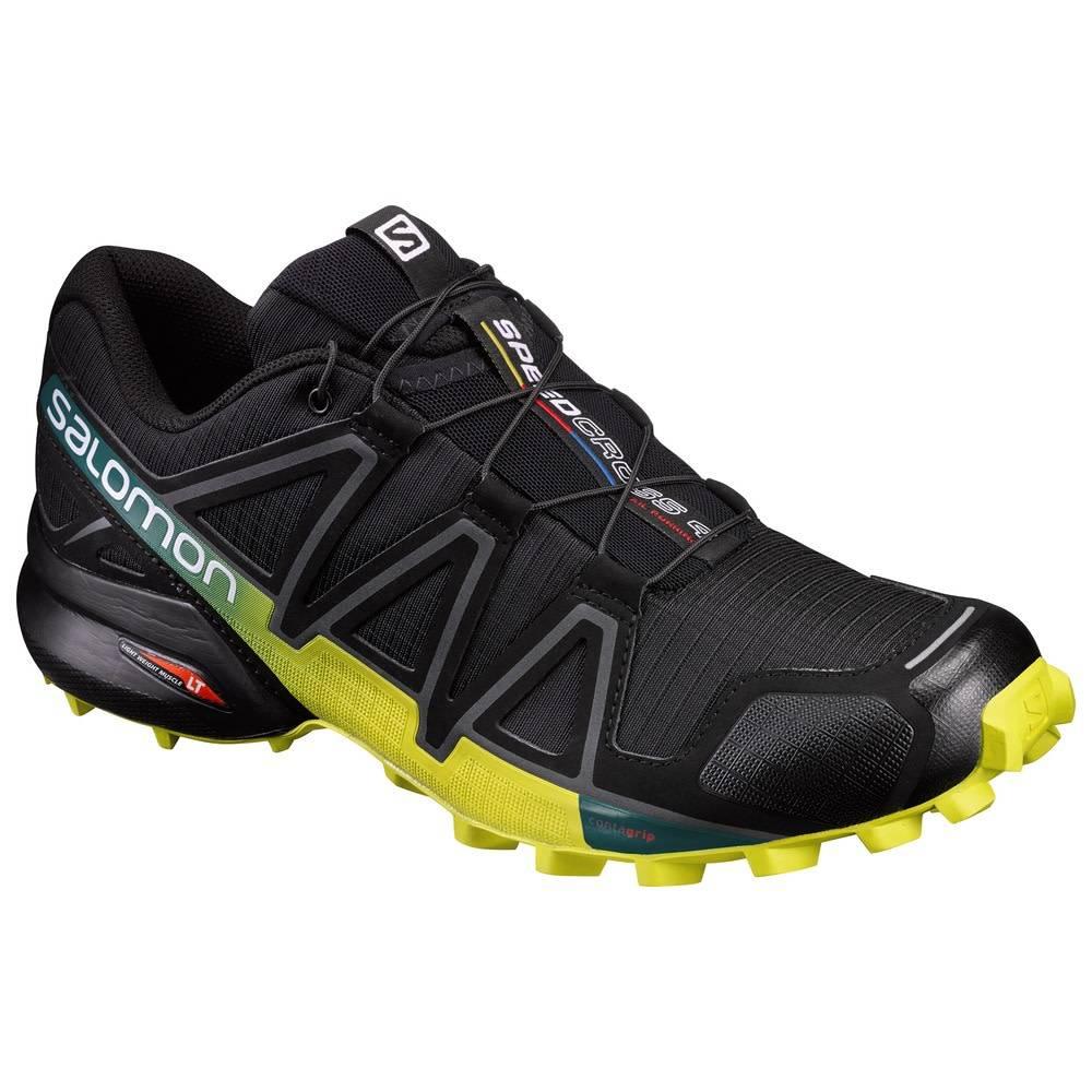 Salomon Speedcross 4 Black Yellow