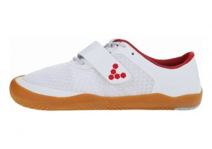 Vivobarefoot Motus Weiß Rot
