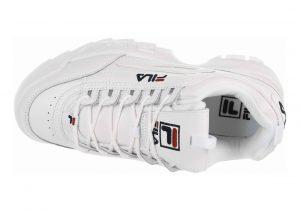 Fila Disruptor 2 White/White/White