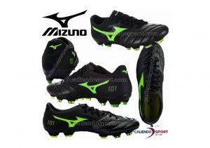 Mizuno Basara 101 K-leather Firm Ground black/greengecko