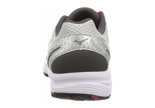 Mizuno Wave Crusader 9 Grau (Silver/Baton Rouge/Dark Shadow)