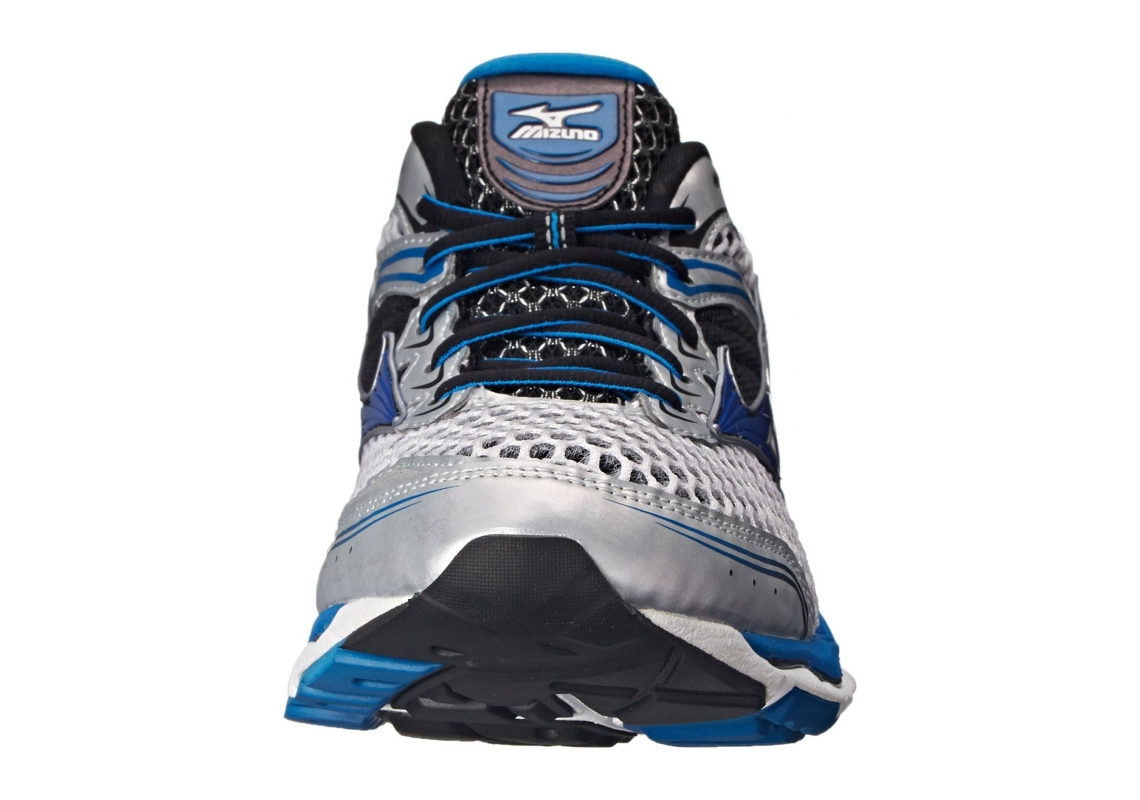 Mizuno Wave Creation 17 Silver/Directoire Blue