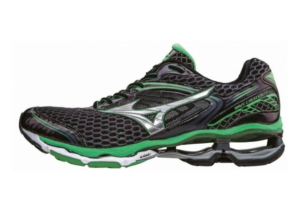 Mizuno Wave Creation 17 Black (Ombreblue/Silver/Irishgreen)