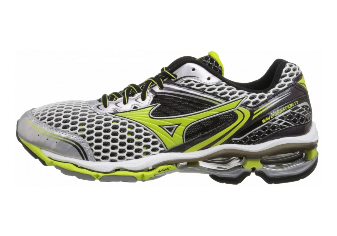 Mizuno Wave Creation 17 Silver/Lime Punch/Black