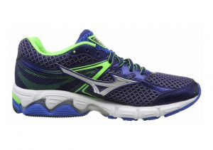 Mizuno Wave Connect 3 Azul Skydiver Silver Green Gecko