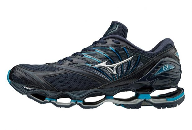 Mizuno Wave Prophecy 8 Black Blue