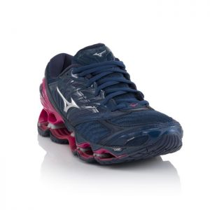 Mizuno Wave Prophecy 8 Blue Wing Teal Silver