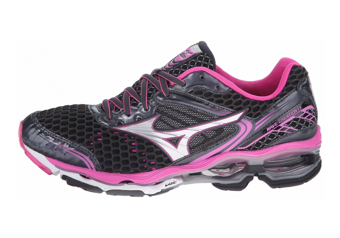 Mizuno Wave Creation 17 Black/Pink