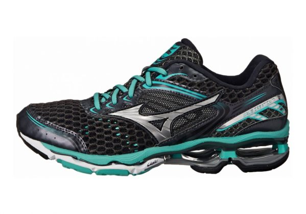 Mizuno Wave Creation 17 Dark Shadow Silver