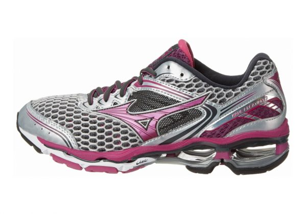 Mizuno Wave Creation 17 Silver Wild Aster
