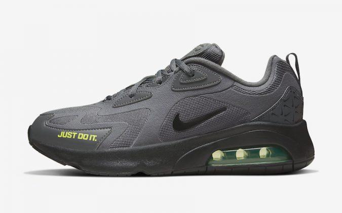 Nike Air Max 200 Dark Grey Volt