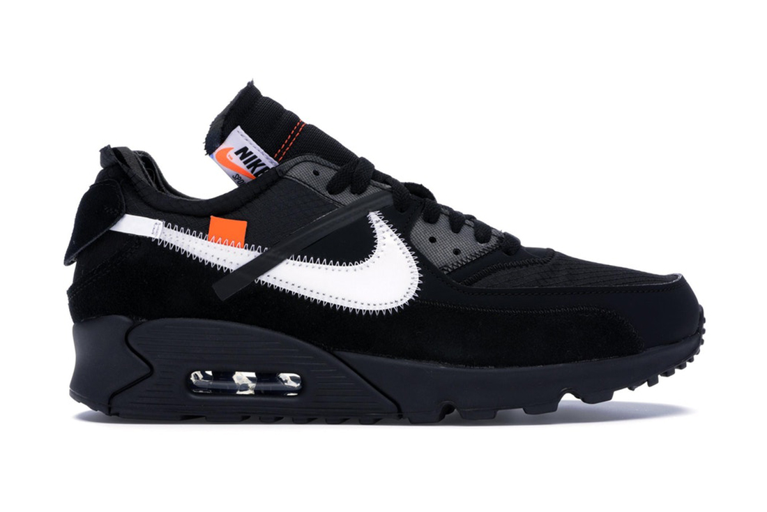 Off White Nike Air Max 90 Black