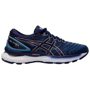 Asics Gel Nimbus 22 Grey Floss Peacoat