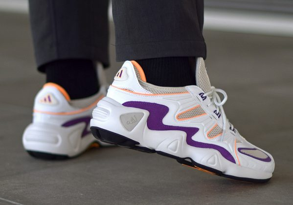 Adidas FYW S 97 Flash Orange Purple