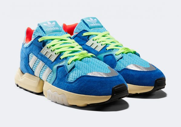 Adidas ZX Torsion Bright Cyan/Linen Green