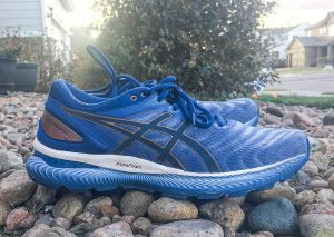 Asics Gel Nimbus 22 Blue White