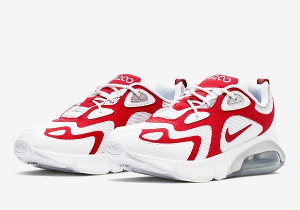 Nike Air Max 200 White Red