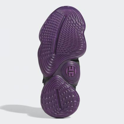 adidas Harden Vol 4 Core Black/Amber Tint/Grey Six