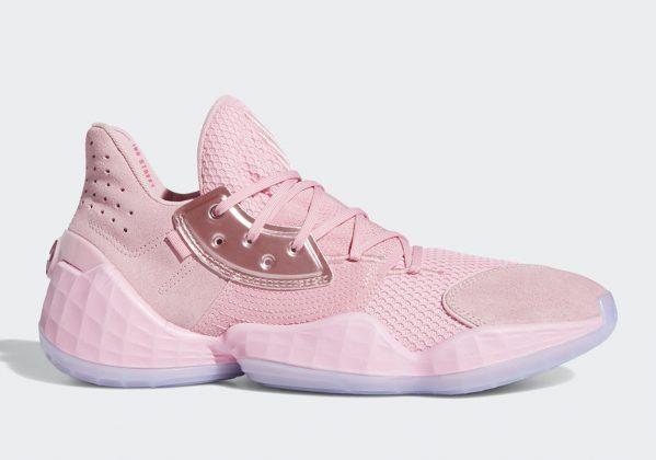 adidas Harden Vol 4 Pink/Lemonade