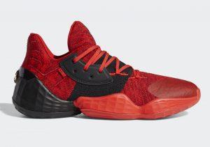 adidas Harden Vol 4 Red/Black