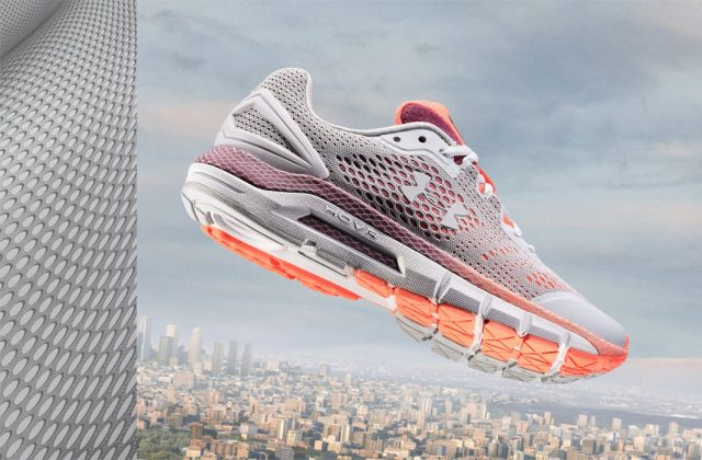 Under Armour HOVR Guardian Grey/Red/Orange