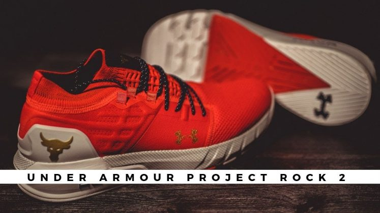 Under Armour Project Rock 2 Blood Orange