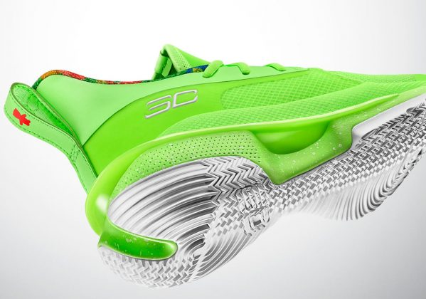 Under Armour Curry 7 Sour Patch Lime
