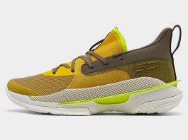 Under Armour Curry 7 Zepellin Yellow