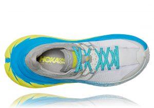 Hoka One One TenNine Grey/Blue/Yellow