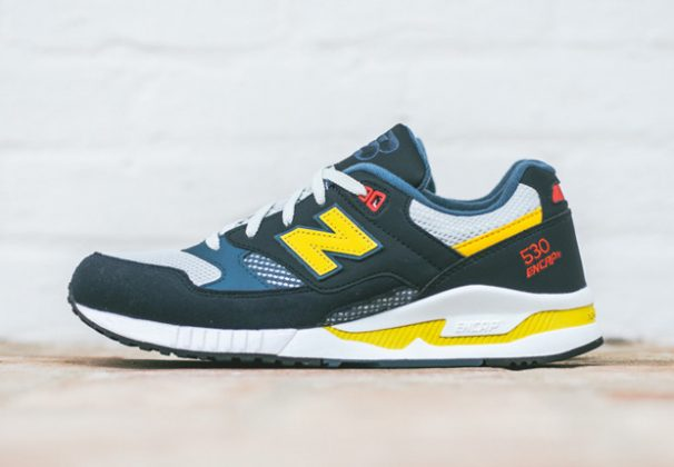 """New Balance 530 """"90s Running Collection Navy Yellow"""""""