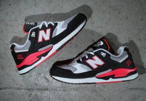 New Balance 530 Black Hot/Red/Grey