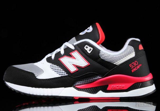 New Balance 530 Black Hot/Red/Grey