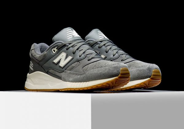 New Balance 530 Suede Solids Pack Grey