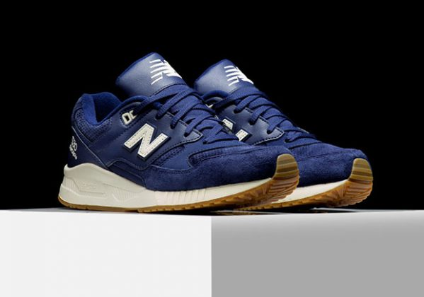 New Balance 530 Suede Solids Pack Navy