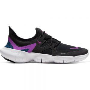 Nike Free RN 5.0 Black/White/Purple