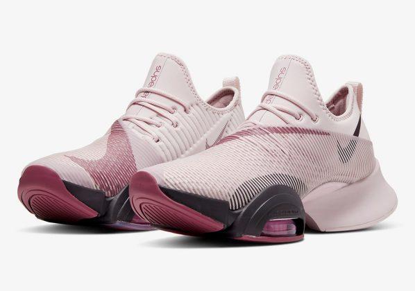 Nike Air Zoom SuperRep Barely Rose/ Shadowberry/Cosmic Fuchsia/Burgundy Ash
