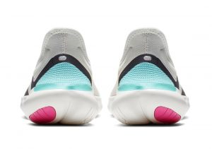 Nike Free RN 5.0 Sail/Volt Thunder Grey Aurora