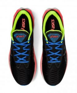 Asics Novablast Black Volt/Orange