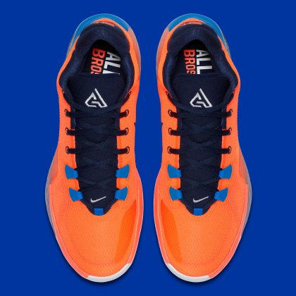 Nike Zoom Freak 1 Orange