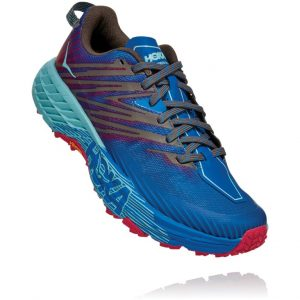 Hoka One One Speedgoat 4 Imperial Blue/Pink Peacock