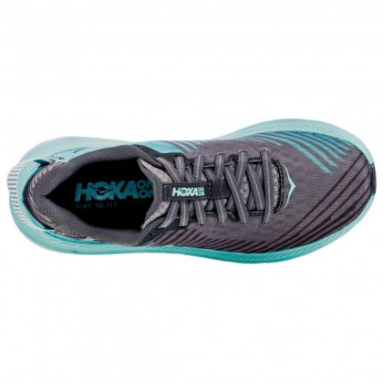 Hoka One One Rincon Charcoal Gray/Aqua
