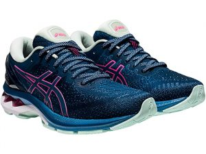 Asics Gel Kayano 27 Mako Blue/Hot Pink