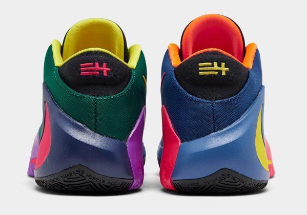 Nike Zoom Freak 1 Total Orange/Dynamic Yellow/Black