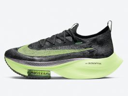 "Nike Air Zoom Alphafly NEXT% ""Valerian Blue/Lime Blast-Black"""